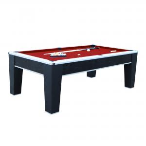 Hathaway Mirage Pool Table, 7.5-ft, Red