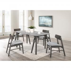 Picket House Furnishings Hannah Standard 5PC Dining Set-Table and Four Chairs