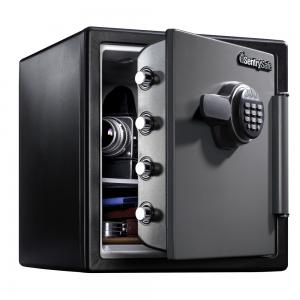 SentrySafe SFW123ES Fire-Resistant Safe and Water-Resistant Safe with Digital Keypad Lock, 1.23 Cu. ft.