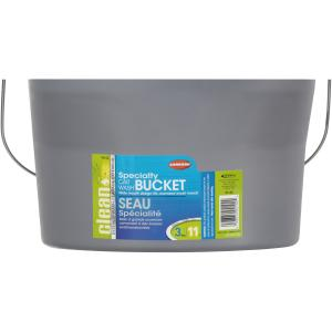 (5 pack) 3 GAL (12QT) CAR WASH BUCKET