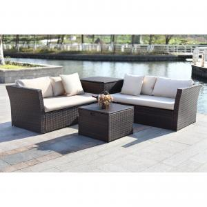 Safavieh Welch Outdoor Living Sectional with Storage