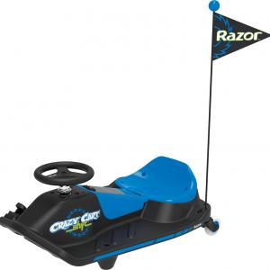 Razor Crazy Cart Shift-12V Electric Drifting Ride-On with New Top Speed Switch