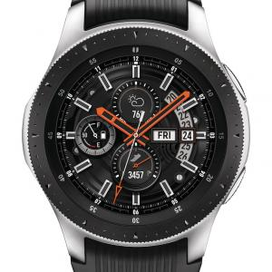SAMSUNG Galaxy Watch – LTE Smart Watch (46mm) Silver – SM-R805UZSAXAR