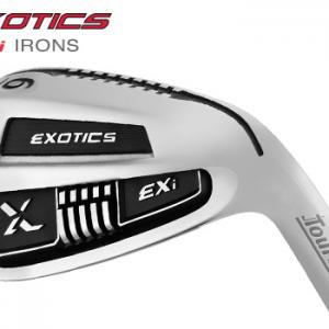 Tour Edge Exotics EXI Golf Iron Set (4-AW), KBS Tour 90 Steel Shaft, Regular Flex, Right Handed
