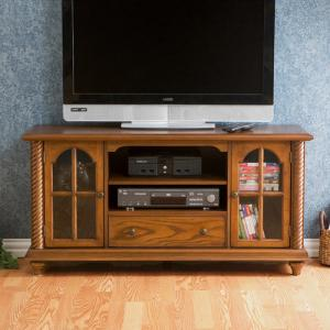 Enrique Antique Oak Media Console for TVs up to 50″