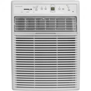 Frigidaire 8,000 BTU 115V Slider/Casement Room Air Conditioner with Full-Function Remote Control, White