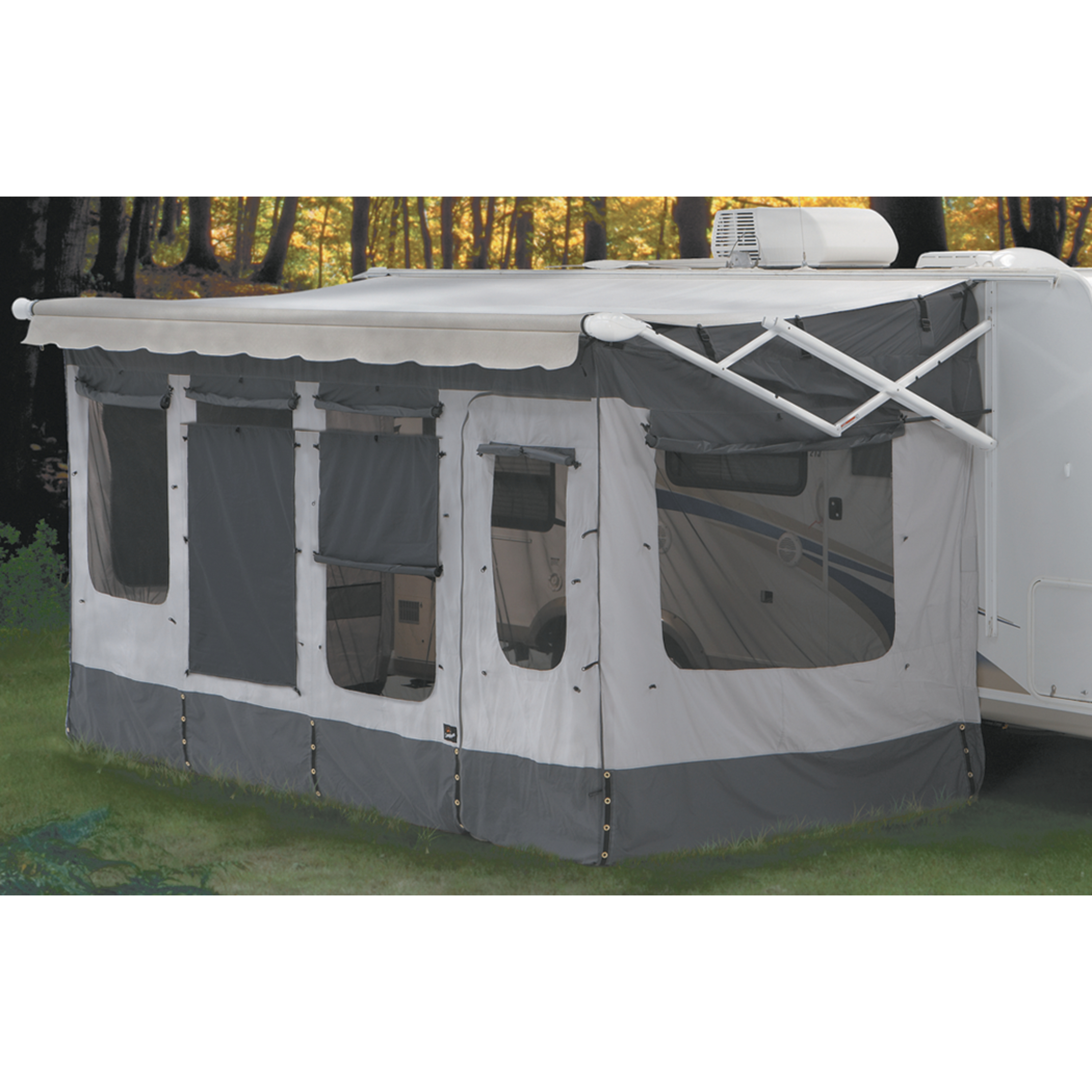 Carefree Vacation'r Screen Room for RV Awning
