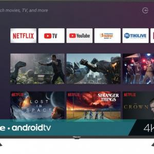 Refurbished 55″ Class 4K HDR Android Smart TV with Google Assistant (5H6570F)