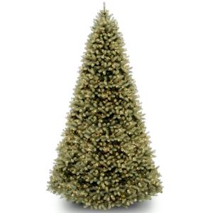 10 ft. Downswept Douglas Fir Tree with Dual Color® LED Lights